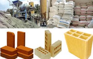 Image result for مواد و مصالح ساختمانی